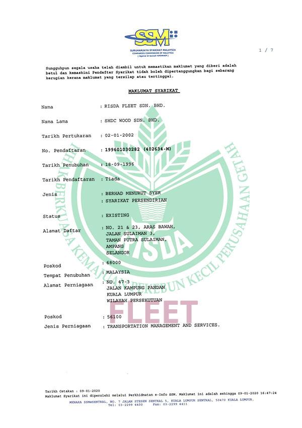 Pendaftaran Suruhanjaya Syarikat Malaysia